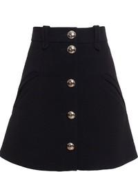 Chloé Buttoned A Line Skirt