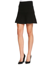 Theory Gida Fit Flare Knit Skirt
