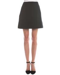 Giorgio Armani Fold Detailed A Line Skirt