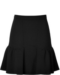 Moschino Cheap & Chic Moschino Cheap And Chic Wool Flared Hem Skirt