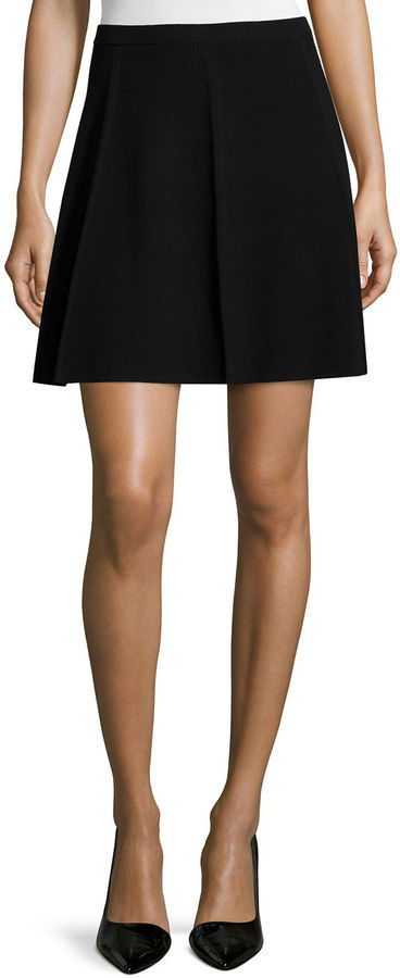 Theory Arryn Prosecco A Line Skirt   Where to buy & how to wear