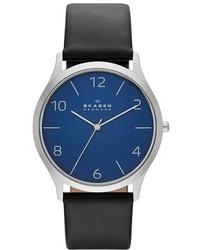 Skagen Jorn Leather Strap Watch 41mm