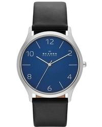 Skagen Jorn Leather Strap Watch 41mm