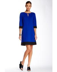Tahari Asl Colorblock Shift Dress
