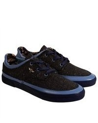 Creative Recreation Lazia Blue Black Lace Up Sneakers