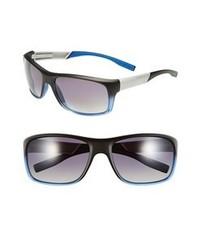 BOSS HUGO BOSS 62mm Polarized Sunglasses Black Transparent Blue None