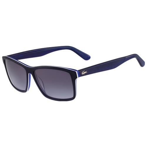 1dcc13a8df0a Men s Fashion › Accessories › Sunglasses › buy.com › Lacoste › Black and  Blue Sunglasses Lacoste Sunglasses L705s 424 Blue 57mm