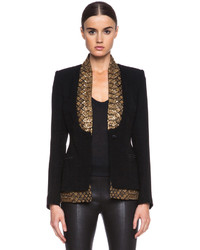Altuzarra Saint Michel Poly Suiting Blazer