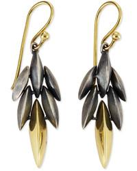 Alexis Bittar Fine Mini Cascade Drop Earrings Blackgold