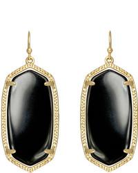 Kendra Scott Elle Earrings Black Onyx