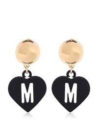 Moschino Love Pendant Earrings