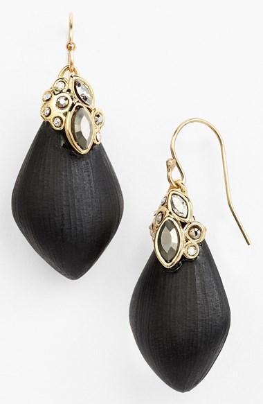Gold Earrings Alexis Bittar Lucite Drop