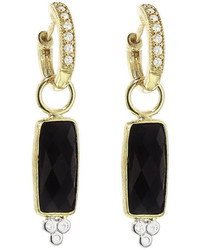 Jude Frances Small Black Onyx Drop Earring Charms