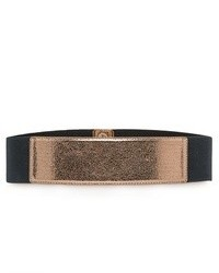 Mango Outlet Contrasted Panel Sash Belt