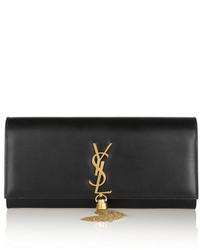 Monogramme leather clutch black medium 150721