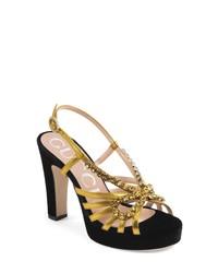 Gucci Zephyra Jewel Sandal