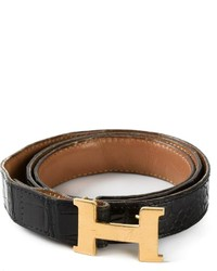 Hermes herms vintage logo buckle belt medium 174518
