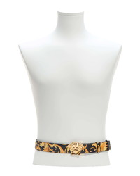Versace Medusa Baroque Leather Belt