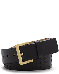 Vince Camuto Square Perforated Belt