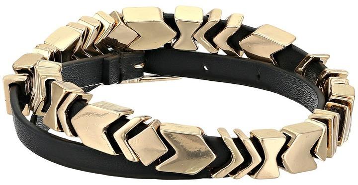 House Of Harlow 1960 Aztec Wrap Bracelet