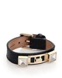 Proenza Schouler Ps11 Small Crocodile Embossed Leather Bracelet
