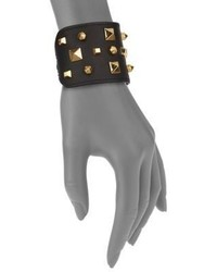 Vince Camuto Studded Leather Cuff Bracelet