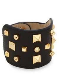 Vince Camuto Studded Leather Cuff Bracelet