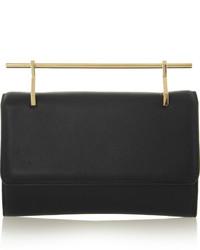 Fabricca leather clutch black medium 351369