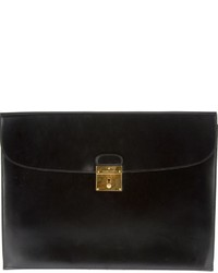 Hermes Herms Vintage Leather Clutch