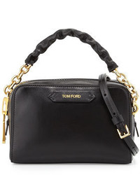 Tom Ford Chain Strap Small Crossbody Bag Black