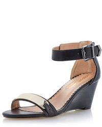 Dorothy Perkins Head Over Heels By Dune Genee Front Metal Plate Sandal