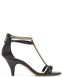 26853600f73b ... Black and Gold Leather Heeled Sandals Vince Camuto Open Toe T Strap  Sandals Mitzy High Heel Vince Camuto Open Toe T Strap Sandals Mitzy High  Heel