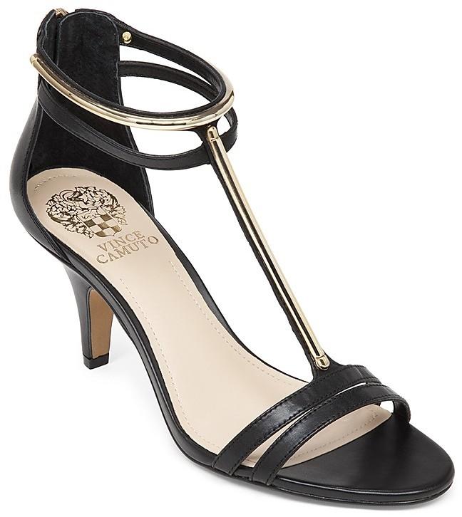 c539035d4da ... Vince Camuto Open Toe T Strap Sandals Mitzy High Heel ...
