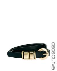 Asos Curve Chunky Metal Keeper Waist Belt