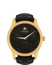 Gucci Gold And G Timeless Watch