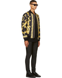 Gold Bomber Jacket Jackets Review