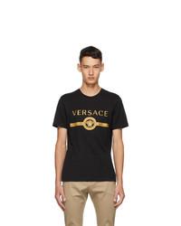 Versace Black Vintage Medusa T Shirt