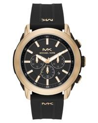 Michael Kors Kyle Chronograph Silicone Watch