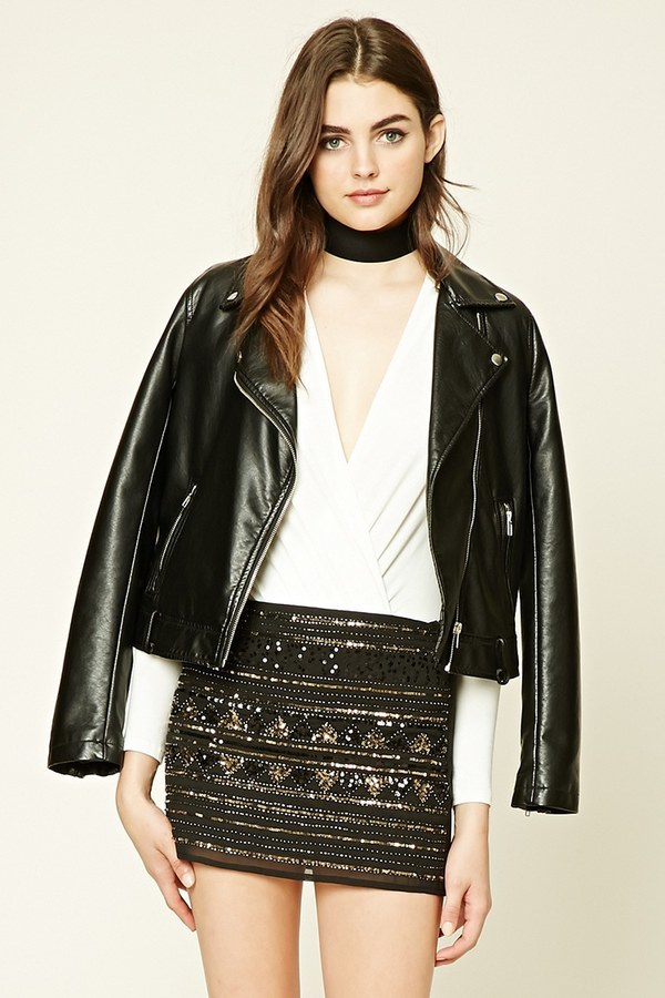3b6da71a ... and Gold Sequin Mini Skirts Forever 21 Geo Pattern Sequin Skirt ...