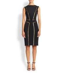 Black and gold sheath dress original 9825712