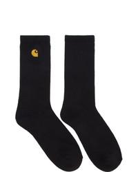 Black and Gold Socks