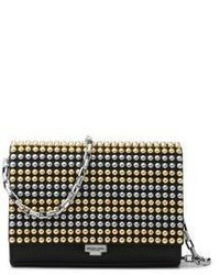 Michl kors collection small studded leather crossbody clutch medium 3716963