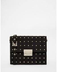 Asos Collection Mini Pin Stud Cross Body Bag
