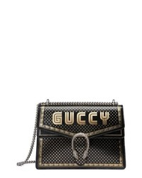 Gucci Dionysus Moon Stars Leather Shoulder Bag