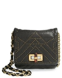 Lanvin Happy Mini Pop Studded Lambskin Leather Crossbody Bag