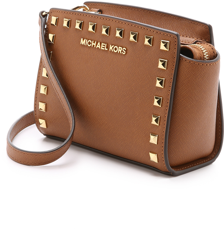 959306edf2 MICHAEL Michael Kors Michl Michl Kors Selma Stud Mini Messenger Bag ...