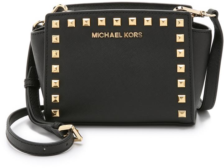 93ce390723b0 ... Crossbody Bags MICHAEL Michael Kors Michl Michl Kors Selma Stud Mini Messenger  Bag ...