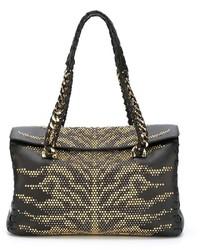 Roberto Cavalli Studded Tote Bag