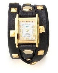 Collections pyramid stud wrap watch medium 63808