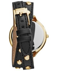 510b9bdb2ed8 ... MICHAEL Michael Kors Michl Michl Kors Michl Kors Slim Runway Double  Wrap Leather Strap Watch 42mm ...